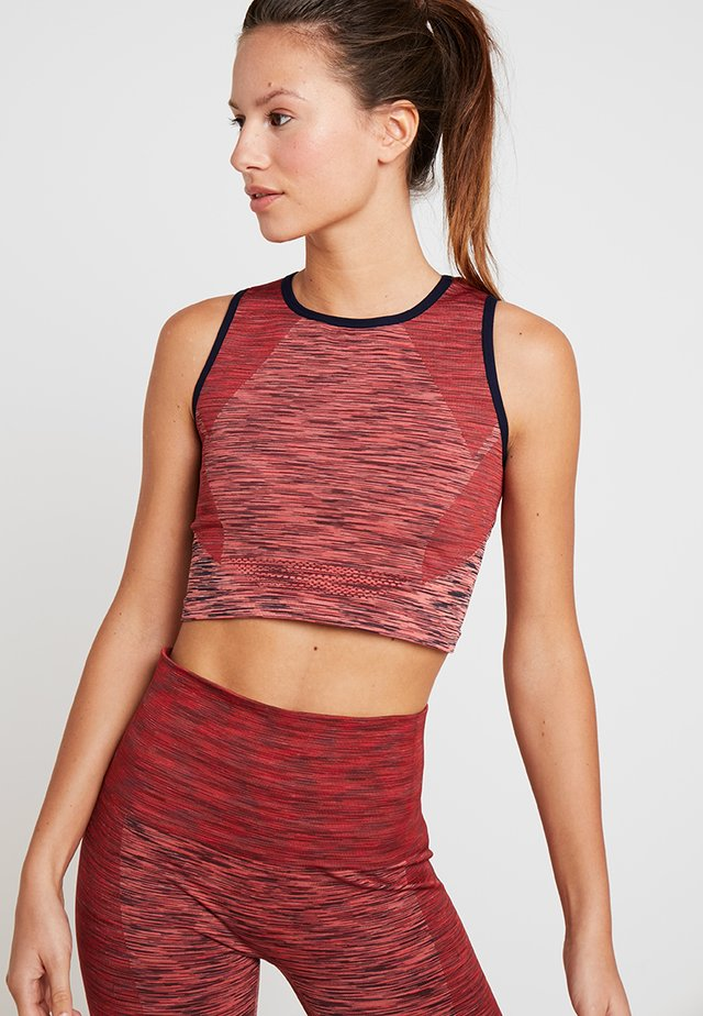 SPACE CROP - T-shirt de sport - pink
