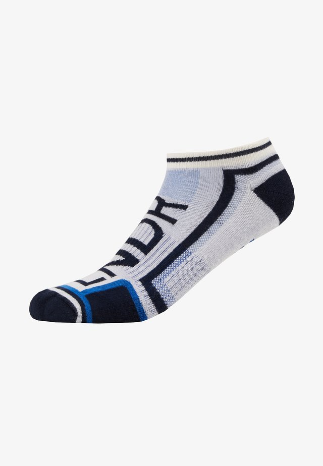 GNARLY TRAINER - Trainer socks - white