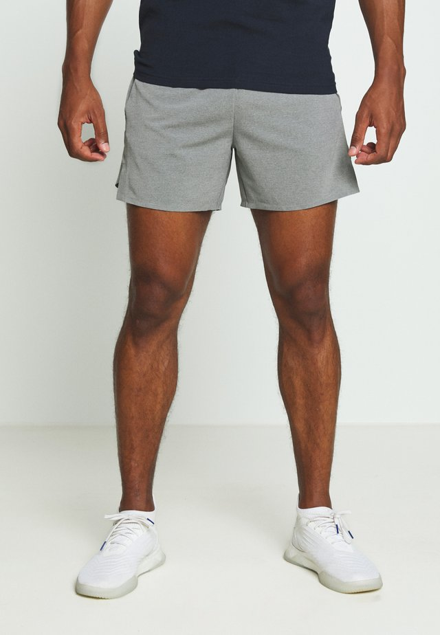 RUN SHORT - Urheilushortsit - grey marl