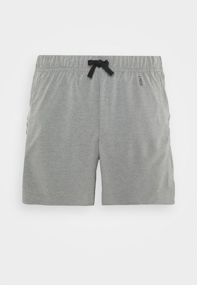 RUN SHORT - Korte sportsbukser - grey marl