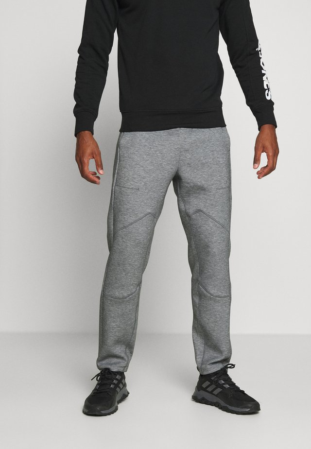 TECH PREME TRACKPANT - Trainingsbroek - grey marl
