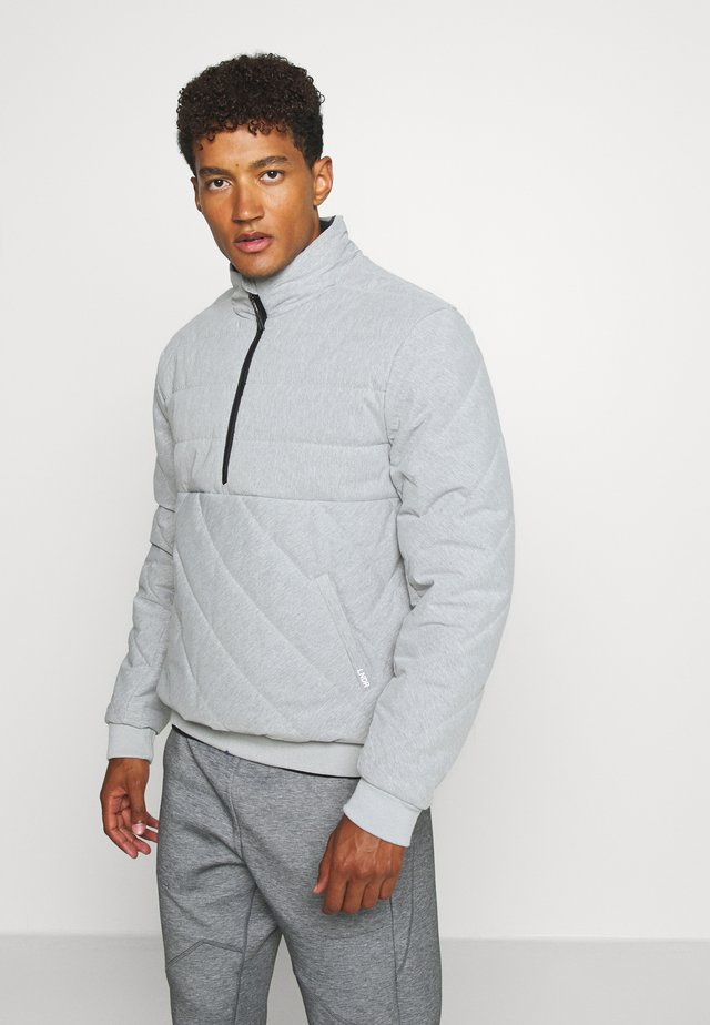 JACKET - Verryttelytakki - light grey marl