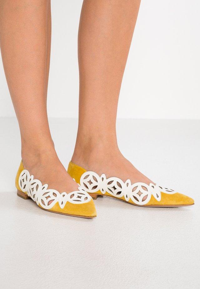 Ballerina - blanco/amarillo