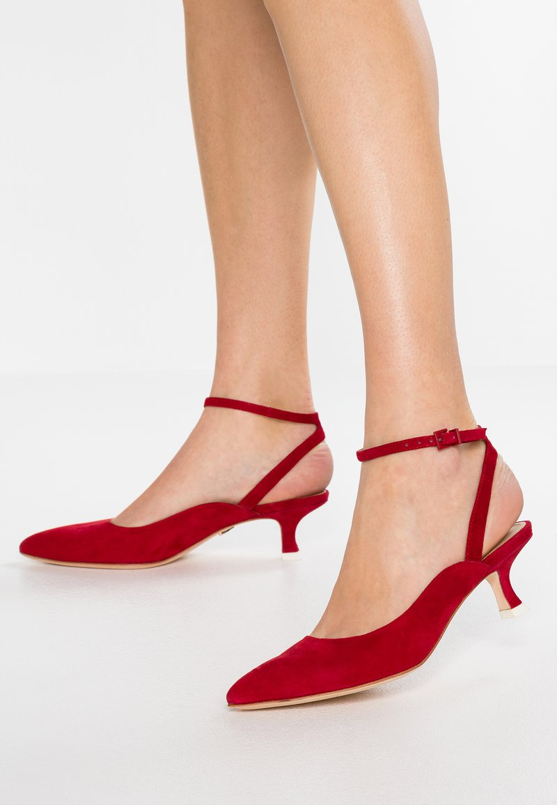 Lola Cruz - Pumps - rojo