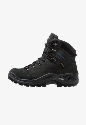RENEGADE GTX MID - Hiking shoes - anthrazit/stahlblau