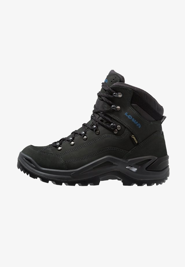 RENEGADE GTX MID - Hiking shoes - anthrazit/stahlblau