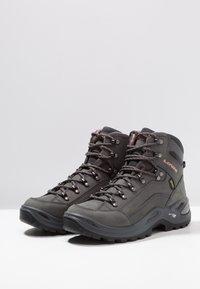 Lowa - RENEGADE GTX MID - Hiking shoes - graphite/rosé - 2