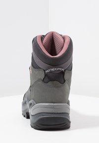 Lowa - RENEGADE GTX MID - Hiking shoes - graphite/rosé - 3