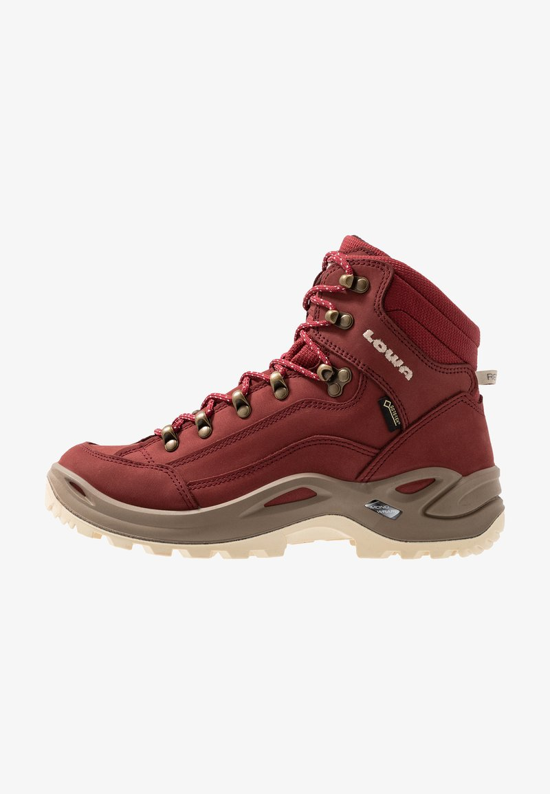 Lowa - RENEGADE GTX MID - Mountain shoes - cayenne