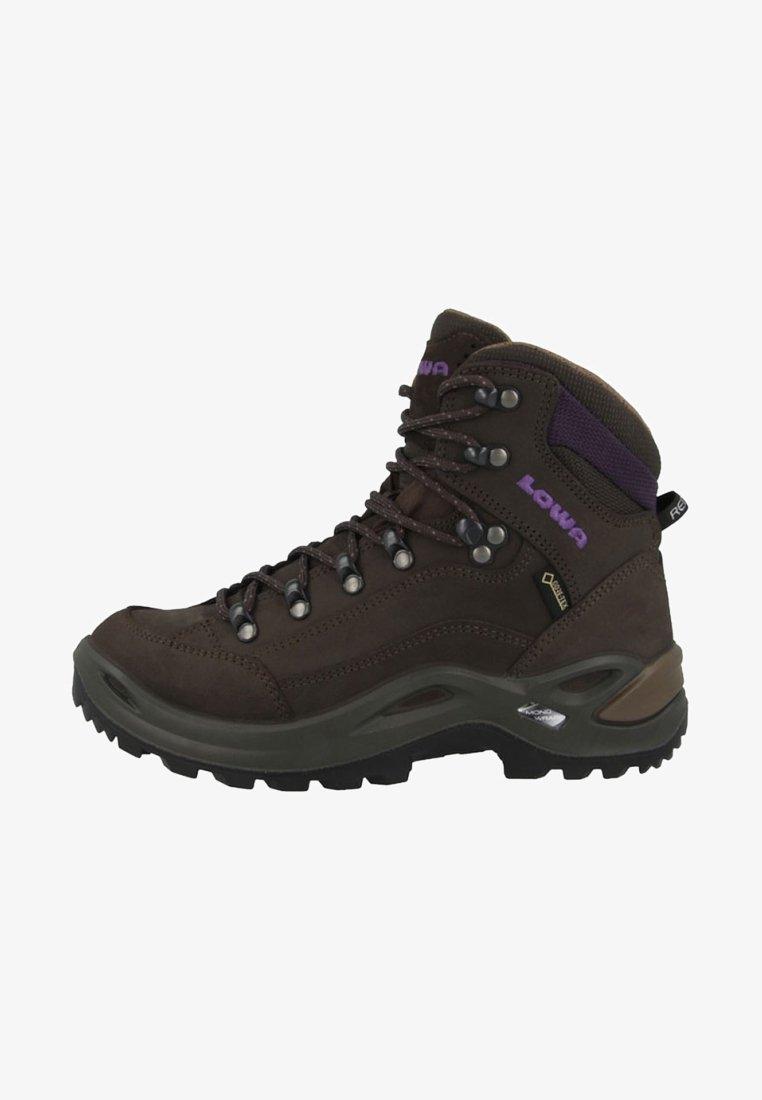 Lowa - RENEGADE GTX MID - Mountain shoes - slate-blackberry