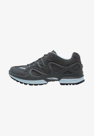 GORGON GTX - Hiking shoes - anthrazit/eisblau