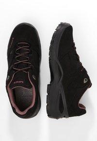 Lowa - SIRKOS GTX - Hiking shoes - schwarz/rose - 1