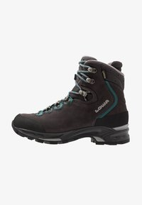 Lowa - MAURIA GTX - Hiking shoes - anthrazit/petrol - 0