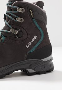 Lowa - MAURIA GTX - Hiking shoes - anthrazit/petrol - 5