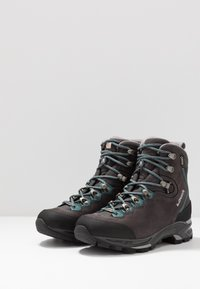 Lowa - MAURIA GTX - Hiking shoes - anthrazit/petrol - 2