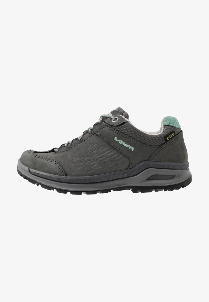 Lowa - LOCARNO GTX LO  - Hiking shoes - graphit/jade