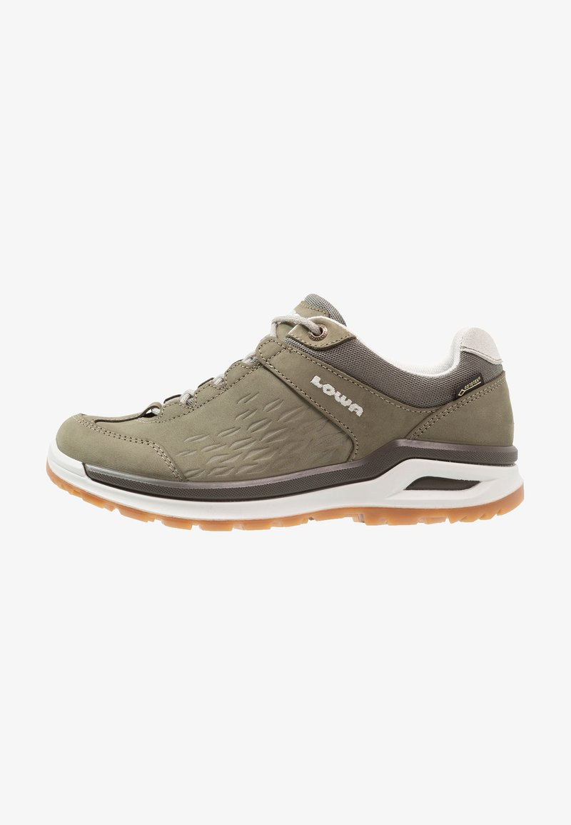 Lowa - LOCARNO GTX LO  - Hiking shoes - schilf/offwhite