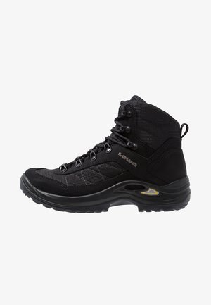 TAURUS II GTX MID - Hiking shoes - black