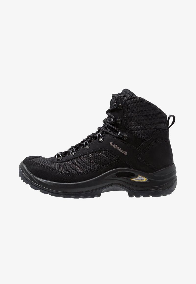 Lowa - TAURUS II GTX MID - Hiking shoes - black