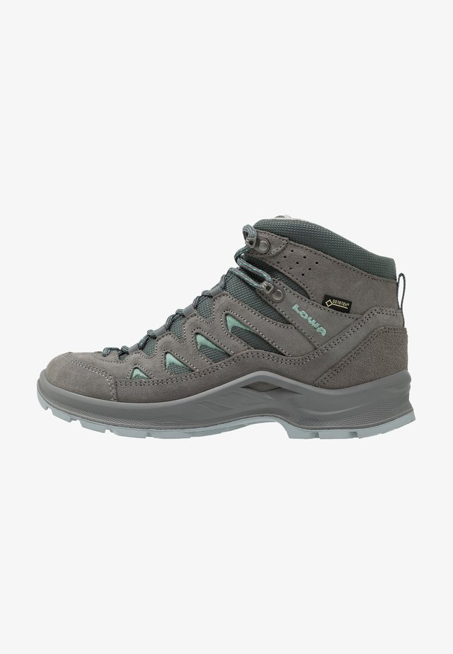 LEVANTE GTX MID - Hiking shoes - graphit/jade