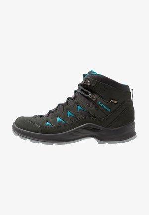 LEVANTE GTX MID - Chaussures de marche - anthrazit/türkis