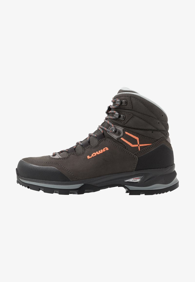 Lowa - LADY LIGHT LL - Hiking shoes - grau/koralle