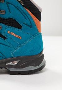 Lowa - BADIA GTX - Hiking shoes - türkis/mandarine - 5