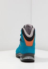 Lowa - BADIA GTX - Hiking shoes - türkis/mandarine - 3