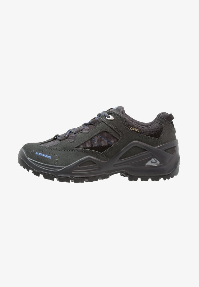 SIRKOS GTX - Hiking shoes - grau/blau