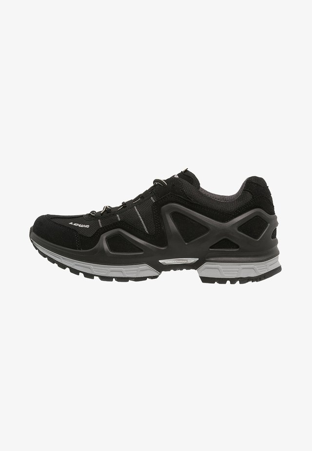 GORGON GTX - Hiking shoes - schwarz/anthrazit