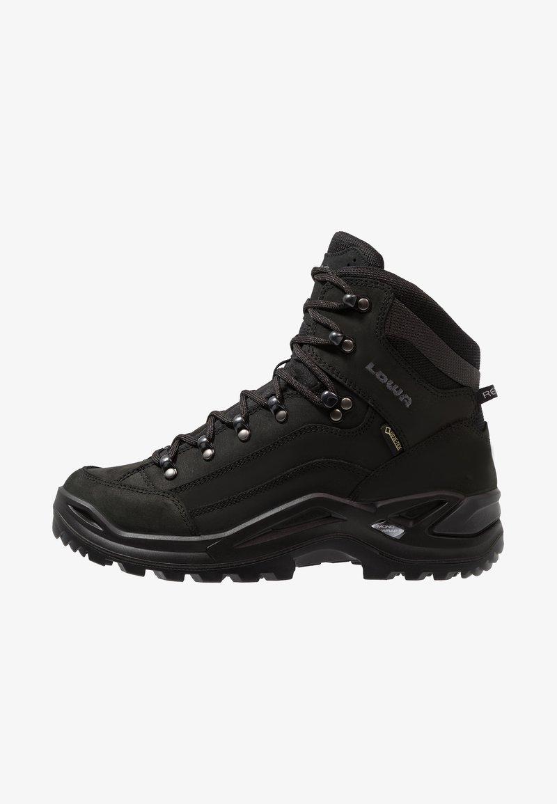 Lowa - RENEGADE GTX  - Hiking shoes - tiefschwarz