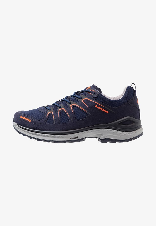 INNOX EVO GTX - Hiking shoes - navy/flame