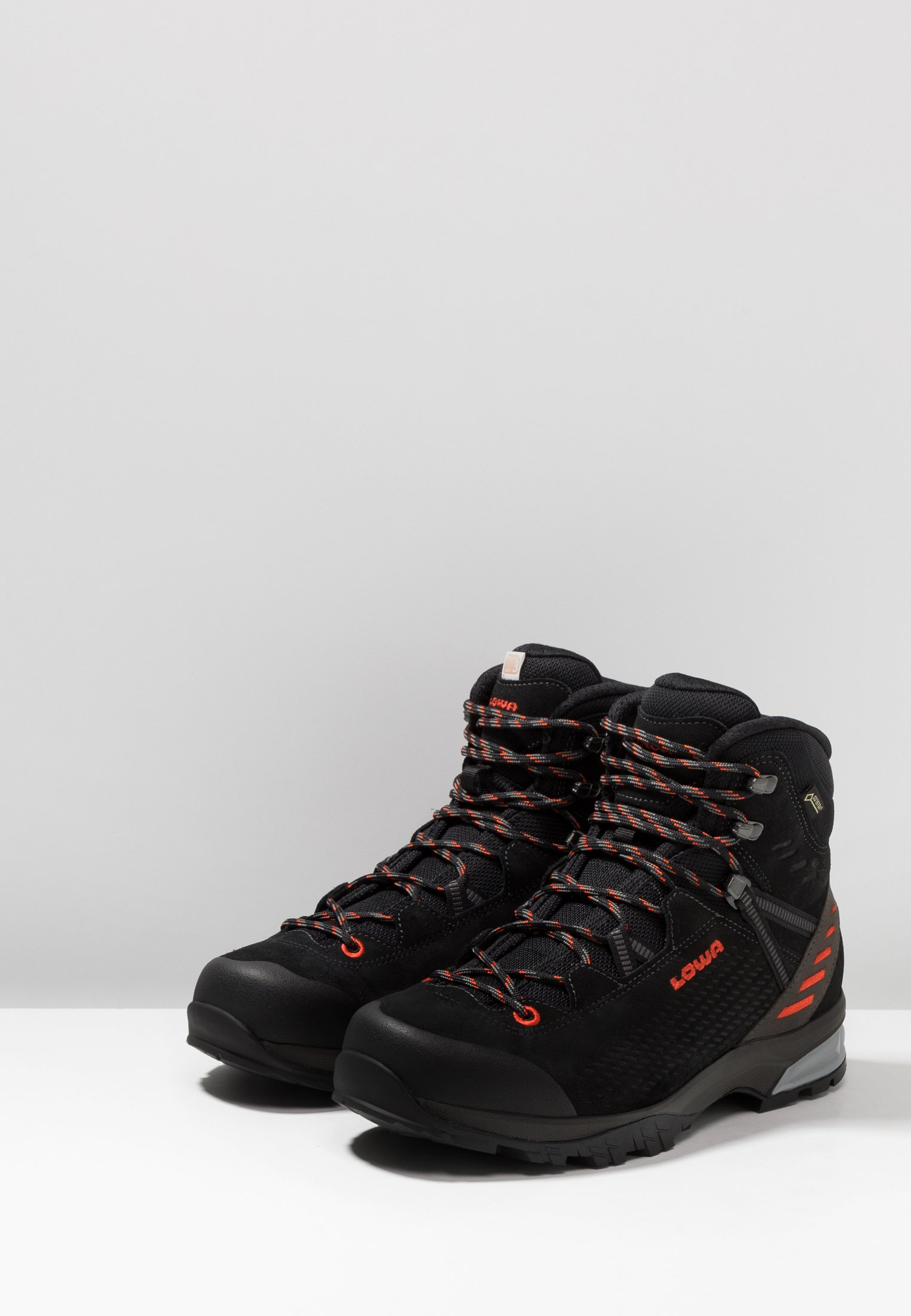 Lowa LEDRO GTX MID - Hikingschuh - schwarz/flame - Black Friday