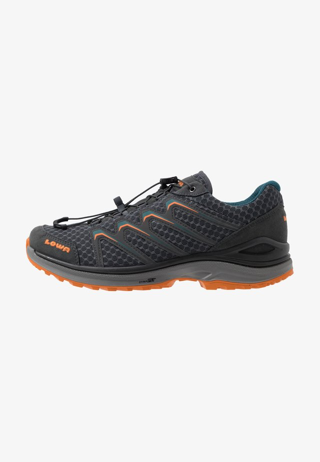 MADDOX LO - Hiking shoes - anthrazit/petrol