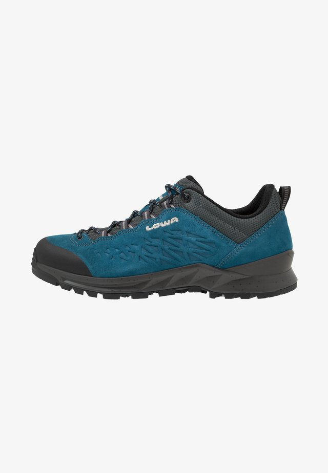 EXPLORER LO - Hiking shoes - blau
