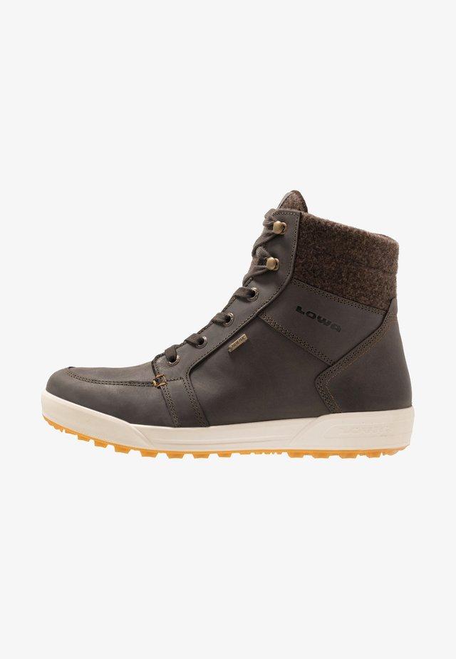MOLVENO GTX MID - Zimní obuv - dunkelbraun/bronze