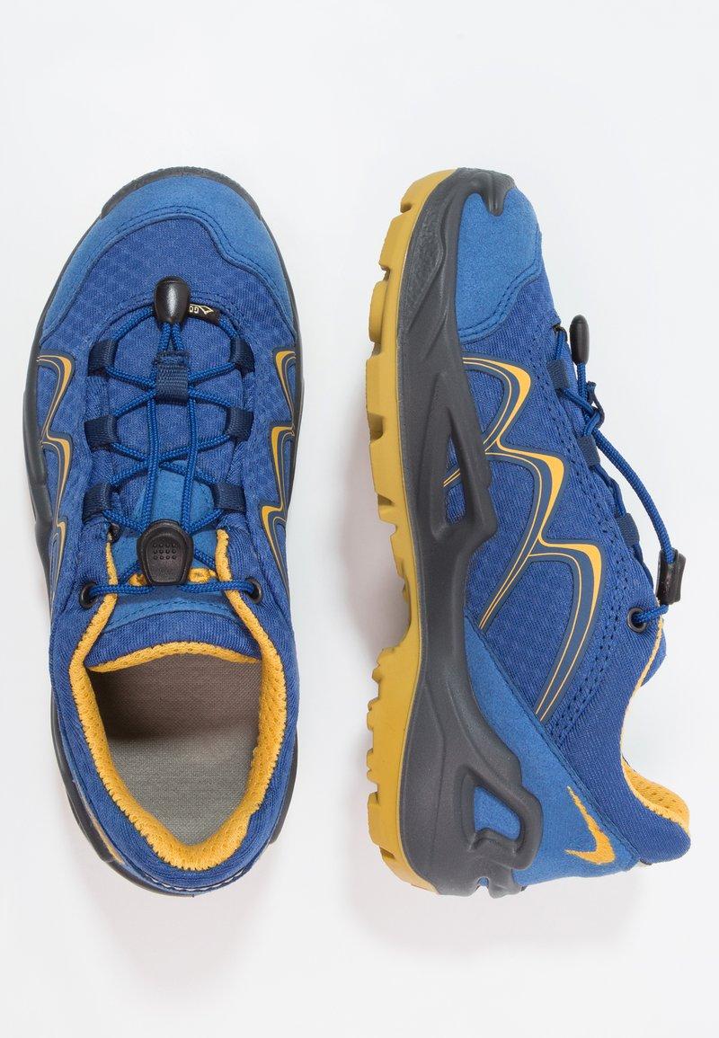 Lowa - INNOX GTX JUNIOR - Hiking shoes - blau/gelb