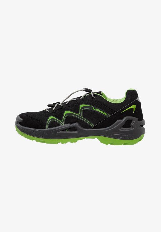 INNOX GTX JUNIOR - Hiking shoes - schwarz/limone