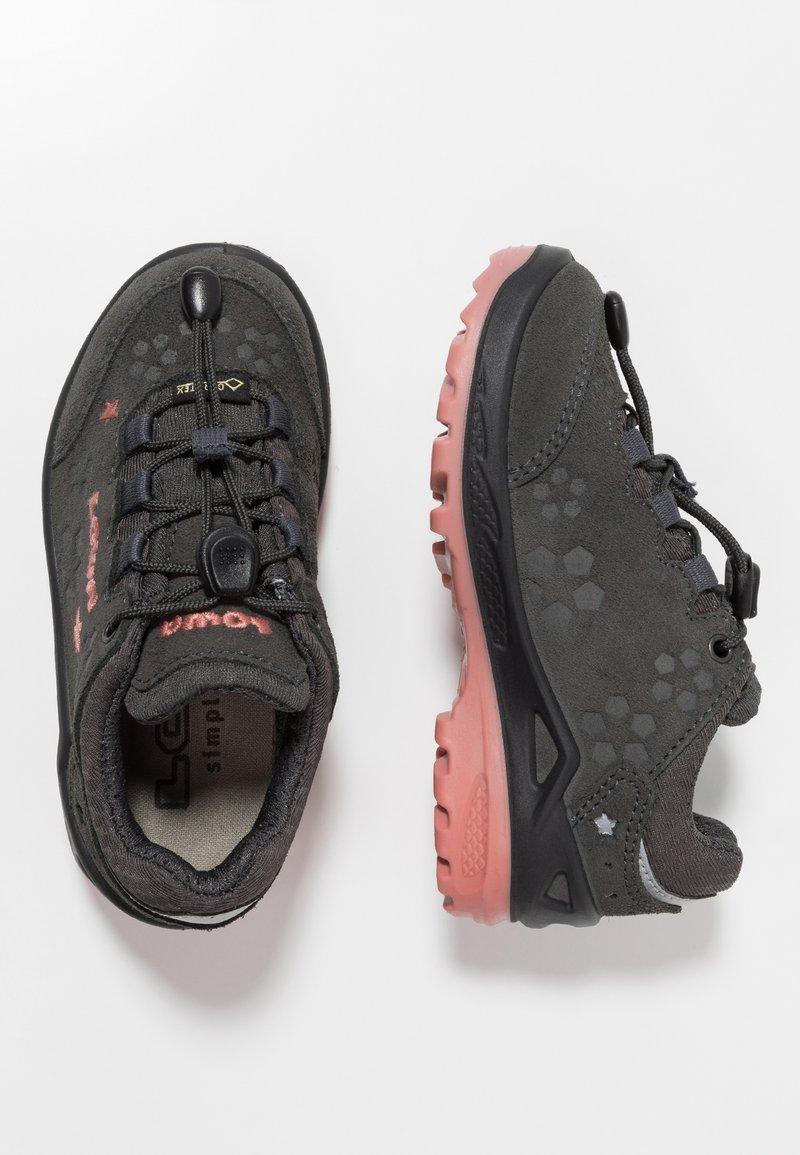 Lowa - MARIE GTX - Hiking shoes - anthrazit/rosé