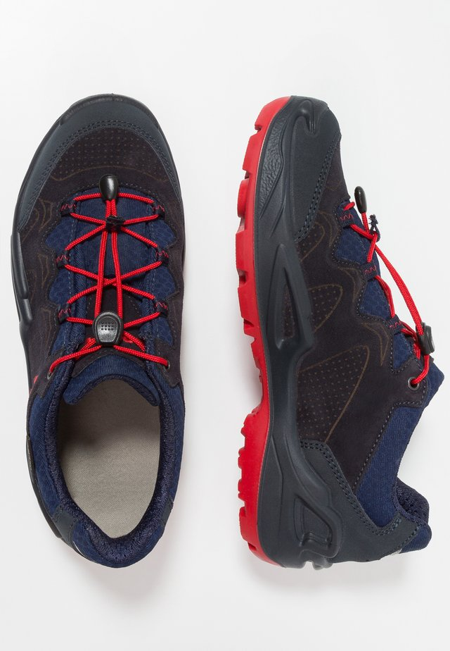 DIEGO GTX - Hikingschuh - navy/red