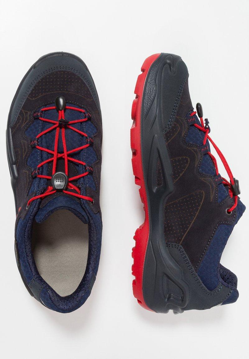 Lowa - DIEGO GTX - Walking shoes - navy/red