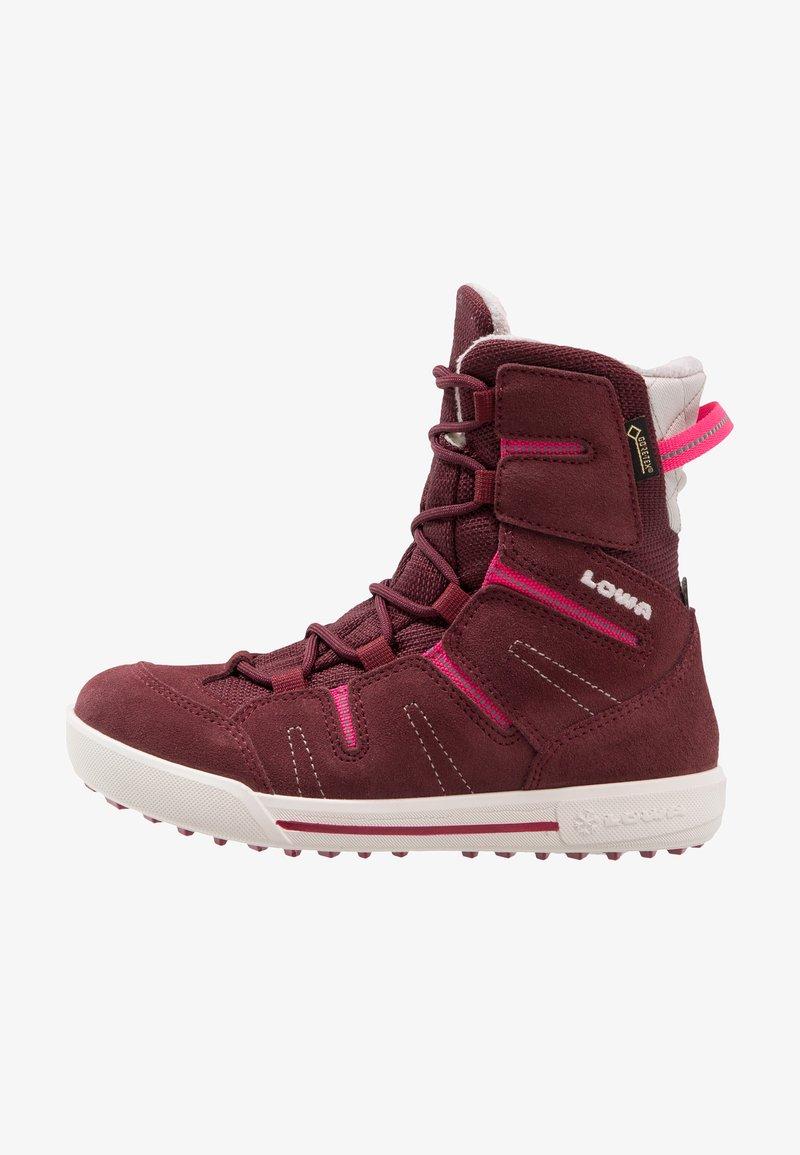 Lowa - Winter boots - bordeaux/beere
