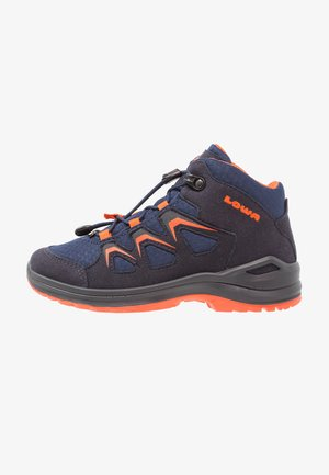 INNOX EVO GTX JUNIOR - Obuwie hikingowe - navy/orange