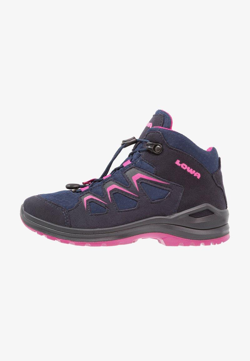 Lowa - INNOX EVO GTX JUNIOR - Hiking shoes - navy/beere