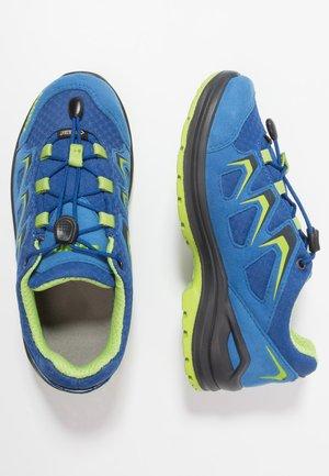 INNOX EVO GTX JUNIOR - Trekingové boty - blau/limone