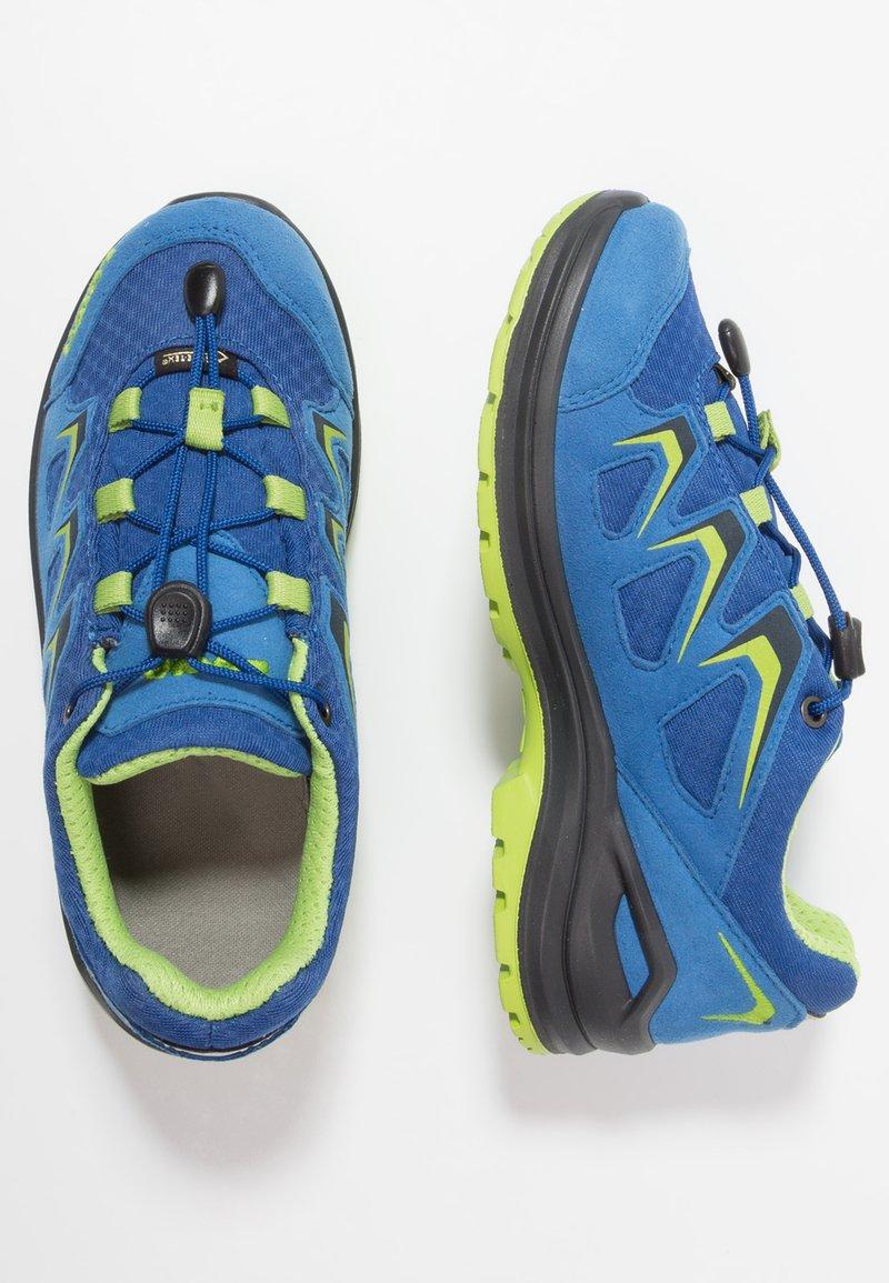 Lowa - INNOX EVO GTX JUNIOR - Hiking shoes - blau/limone
