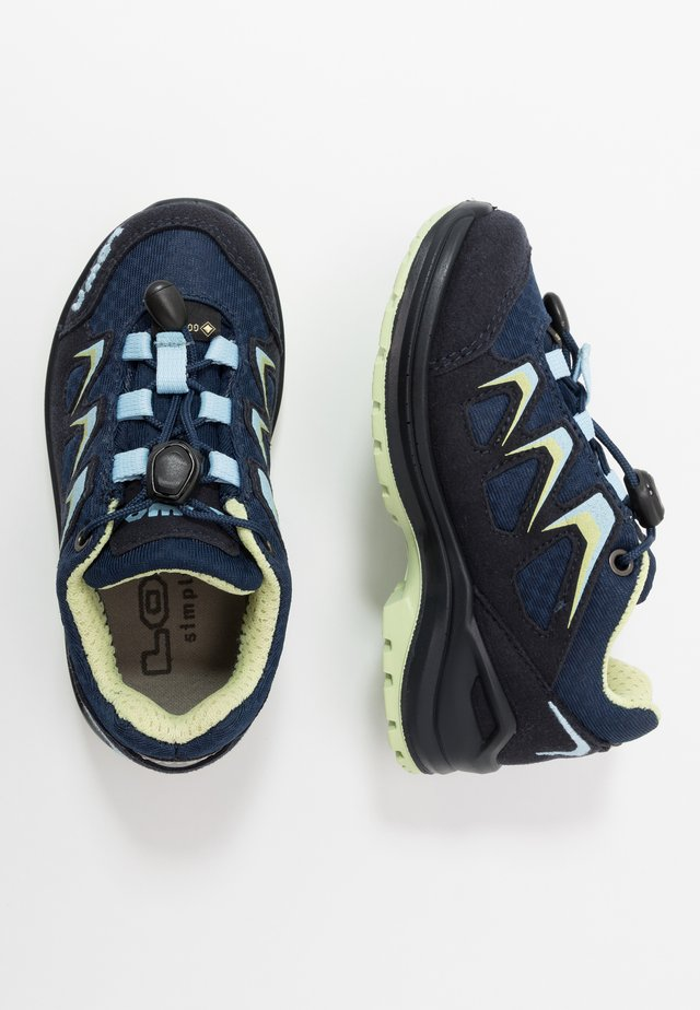 INNOX EVO GTX JUNIOR - Hiking shoes - navy/eisblau