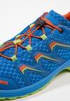 Lowa - MADDOX JUNIOR - Hiking shoes - royal/orange