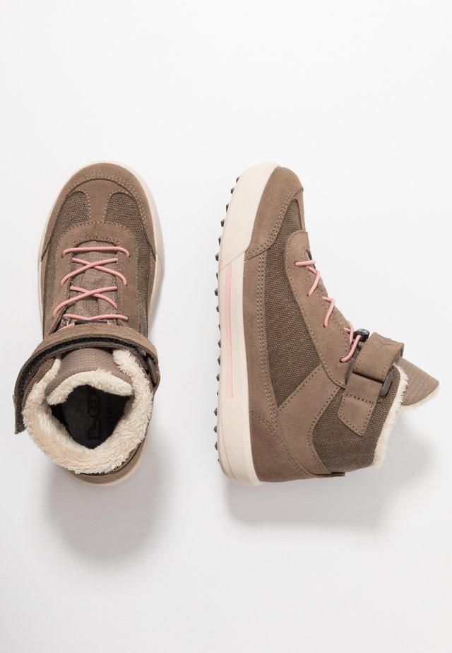 LARA GTX MID - Hiking shoes - taupe/rosa