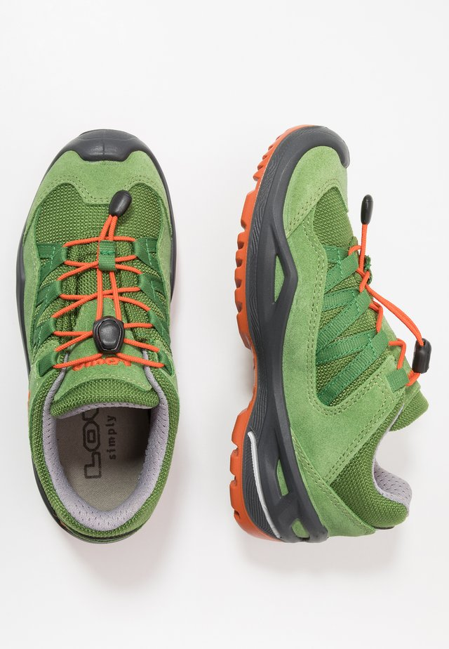 ROBIN GTX  - Hiking shoes - grün/orange